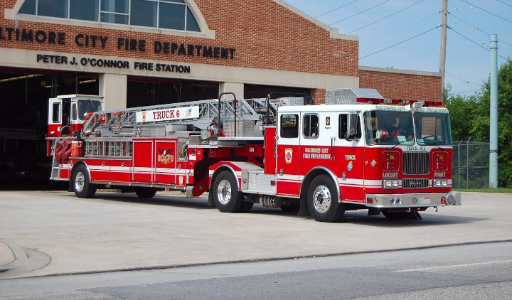 Baltimore Fire Fighters | Station of Engine 26